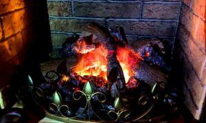 Как сделать искусственный огонь в камине своими руками, простые методы