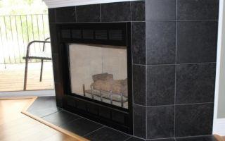 Плитка для отделки каминов и печей, ее основные разновидности