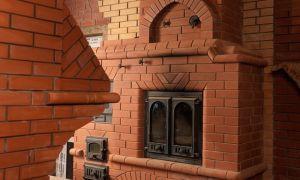 Печь-камин с духовкой, оригинальная конструкция для дома и дачи