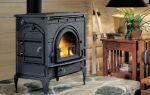Печь-камин из чугуна для дома и дачи, отличительные особенности