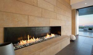 Встраиваемые биокамины для квартиры, установка в стену или в мебель