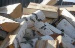 Березовые дрова, основные свойства популярной древесины