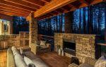 Как возводится камин на террасе, какой дизайн сооружения наиболее предпочтителен