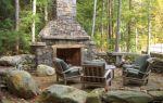 Готовые садовые камины и варианты их самостоятельной постройки