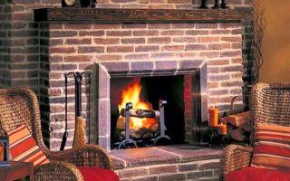 Как построить своими руками дровяной камин для дома, простая технология