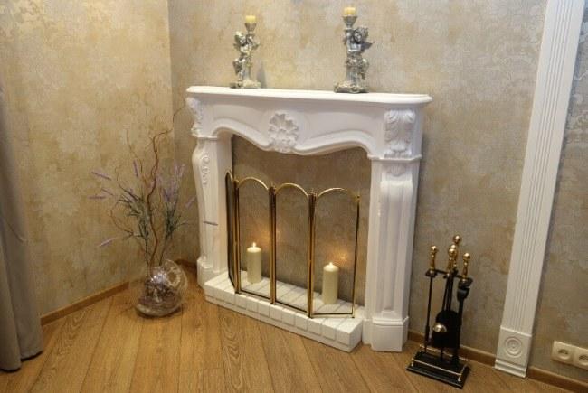 Фальш-камин в интерьере дома