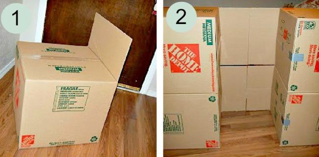 Удобные для творчества небольшие коробки