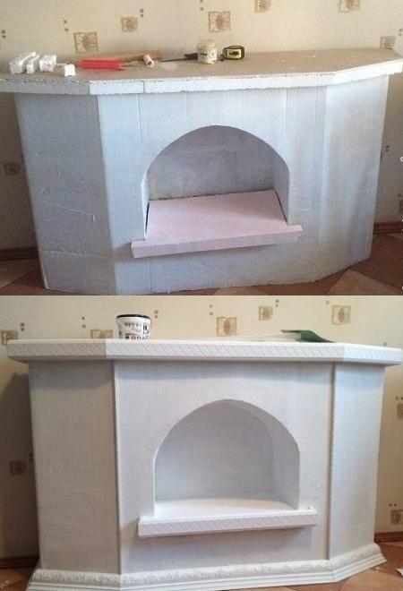 Окраска внешней и внутренней стороны коробки