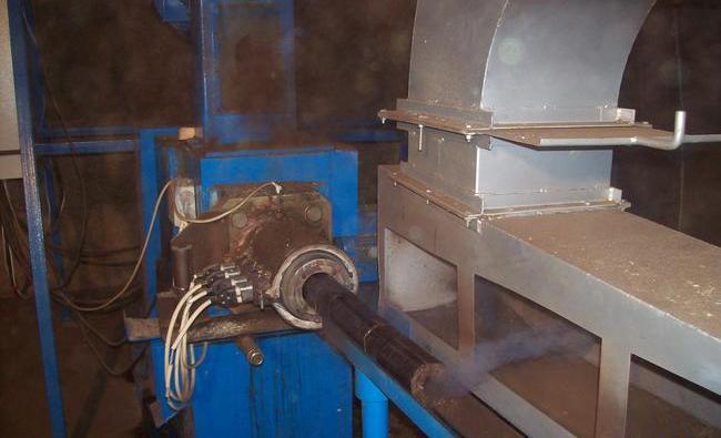 Процесс производства брикетов на заводе