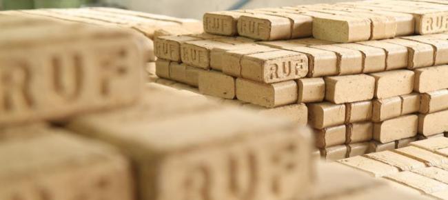 Хранение евробрикетов РУФ
