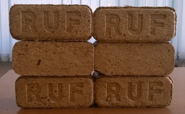 Березовые брикеты Руф