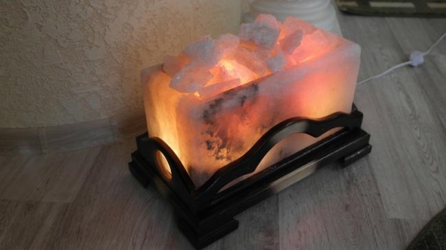 Отличная солвевая лампа для фальш-камина