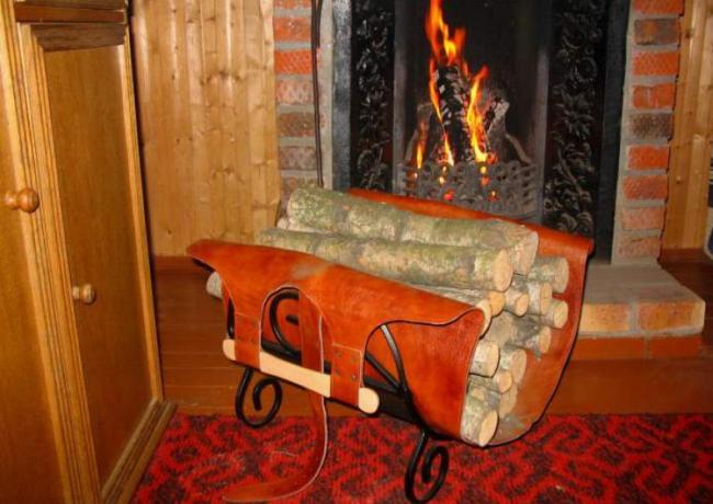 Готовые к использованию дрова