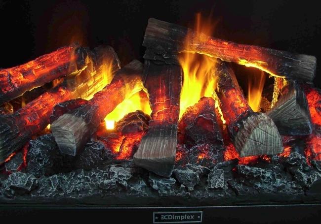 Превосходный декоративный огонь