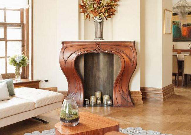 Портал из дерева ручной работы