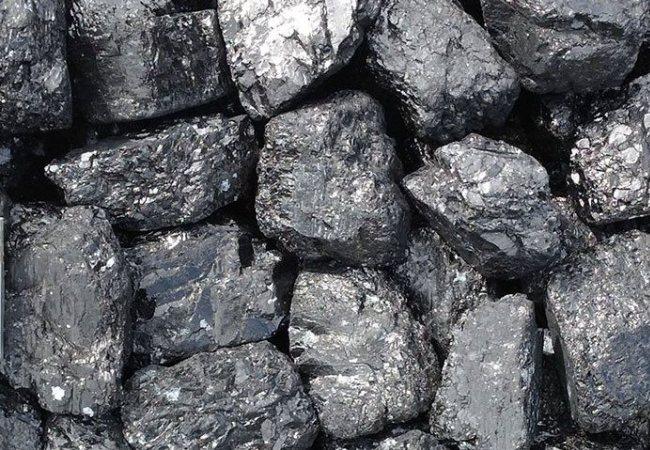 Старый и качественный уголь-антрацит