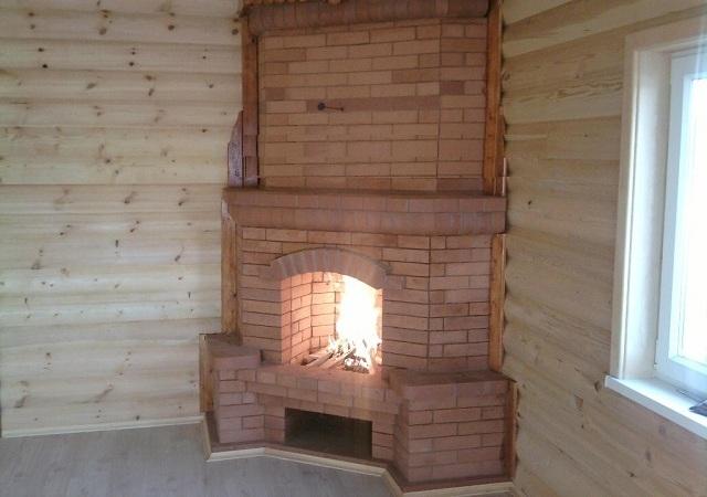 Недавно построенный домашний очаг