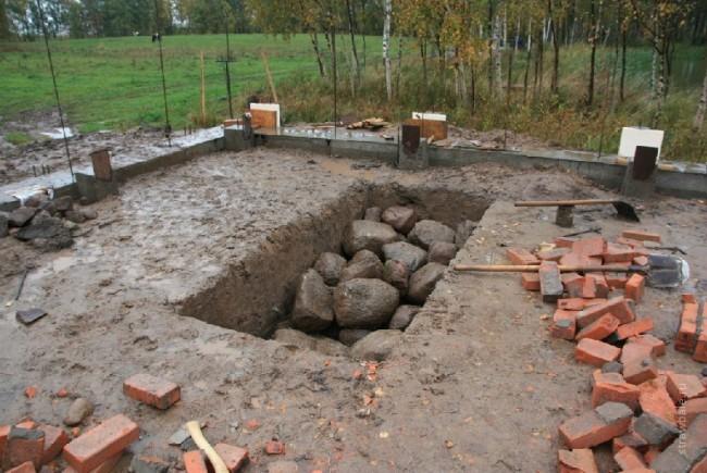 Строительство хорошего фундамента