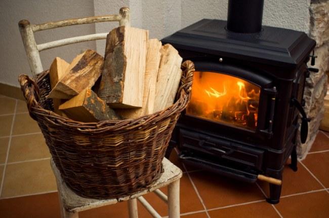 Самое простое топливо - дрова