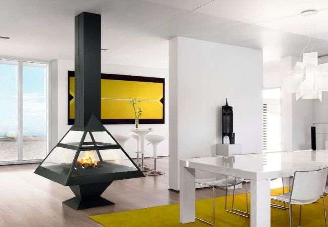 Контрастный дизайн дома