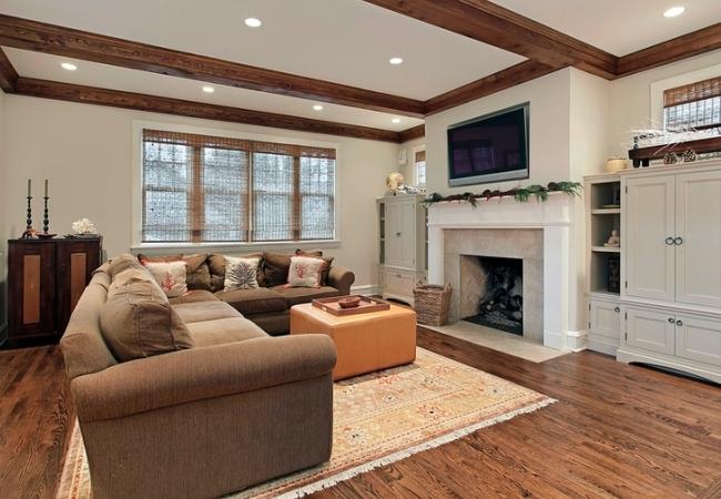 Зона для отдыха в частном доме