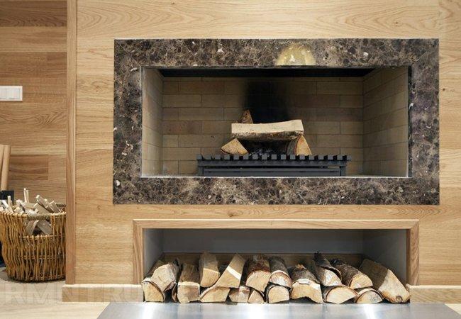 Высушенные дрова для отличного горения