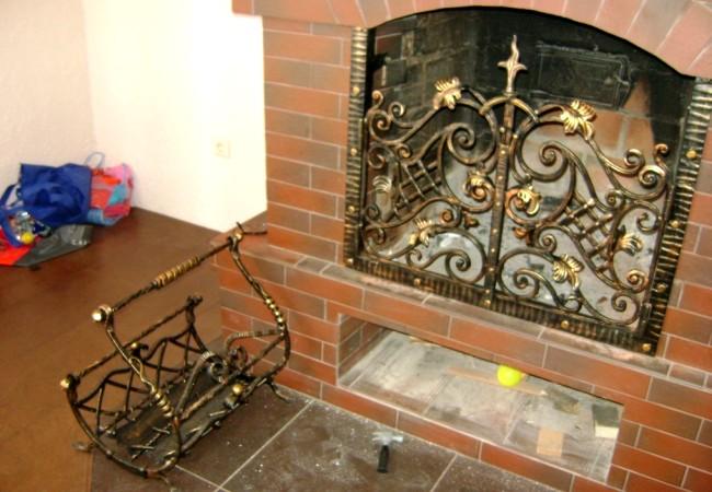 Декоративные приспособления для камина