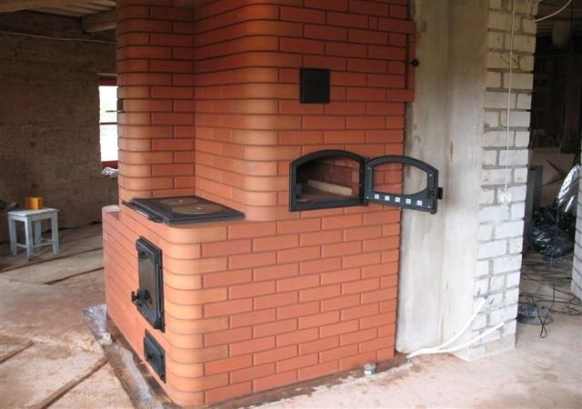 Готовая к работе печка