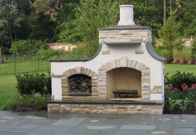 Фундамент для каминной конструкции