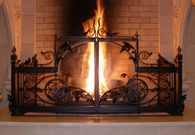 Прячем живой огонь