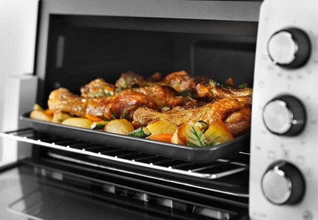 Красиво приготовленная курица