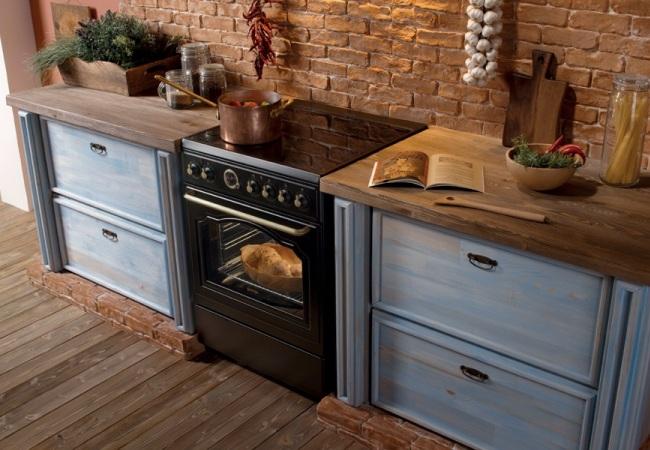 Современная кухонная печь