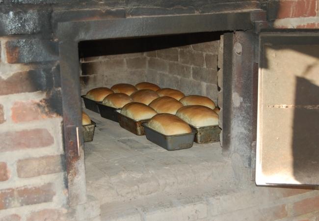 Процесс выпекания хлеба