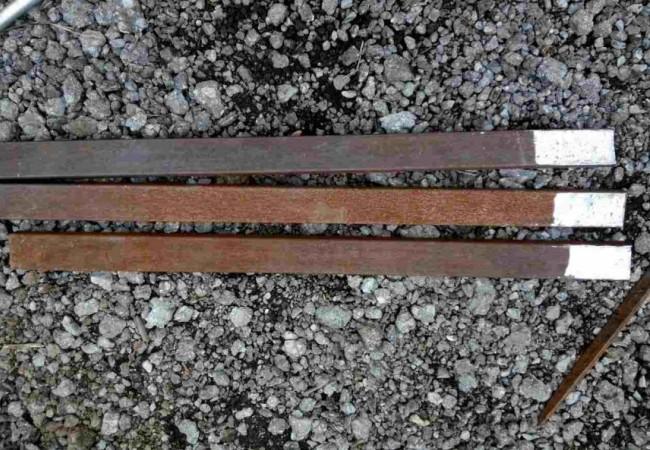 Ножки из металлического профиля