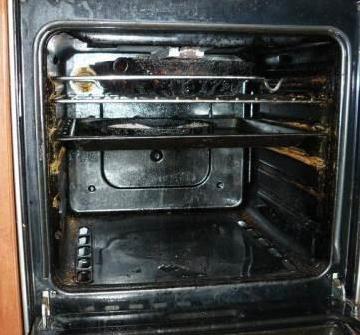 Старая нерабочая духовка