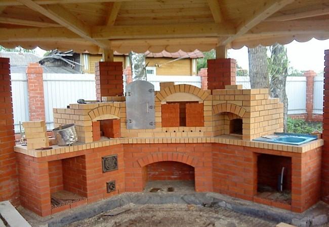 Строительство печного комплекса